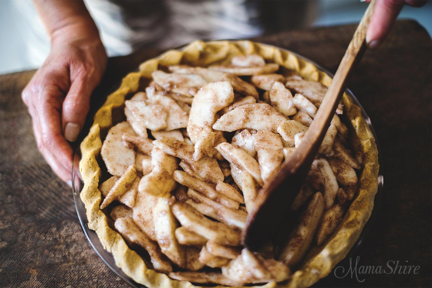 Apple Pie (Gluten Free, Dairy Free, Sugar-Free)