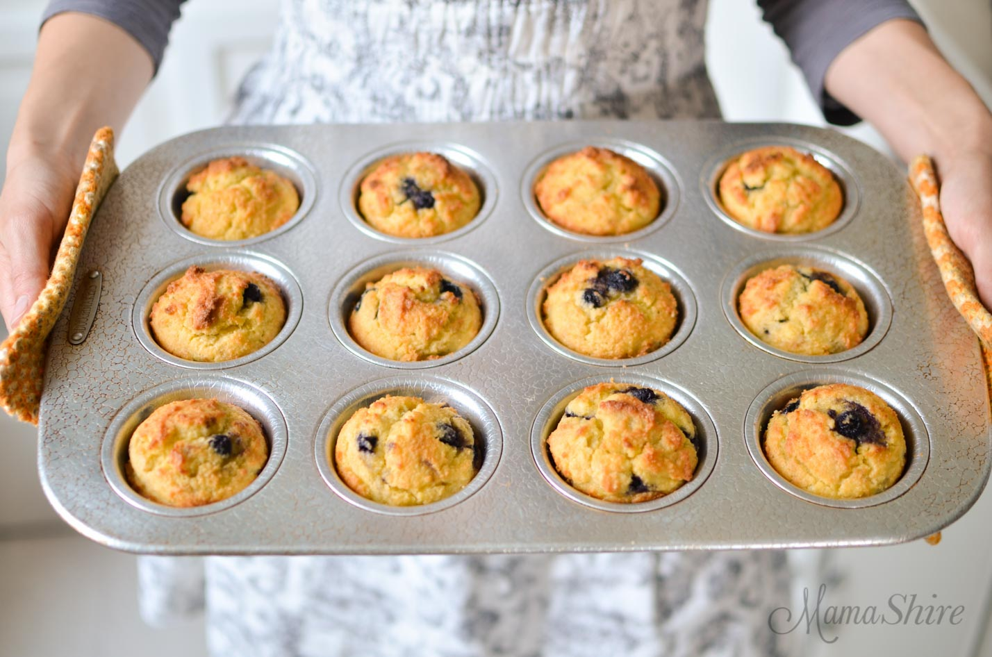 Gluten-Free Lemon Blueberry Muffins