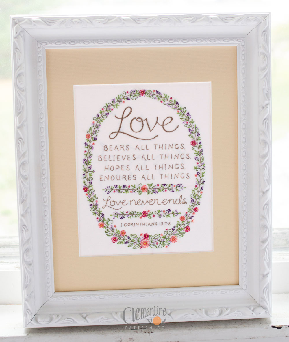 Love-Never-Ends-Embroidery-Clementine-Patterns