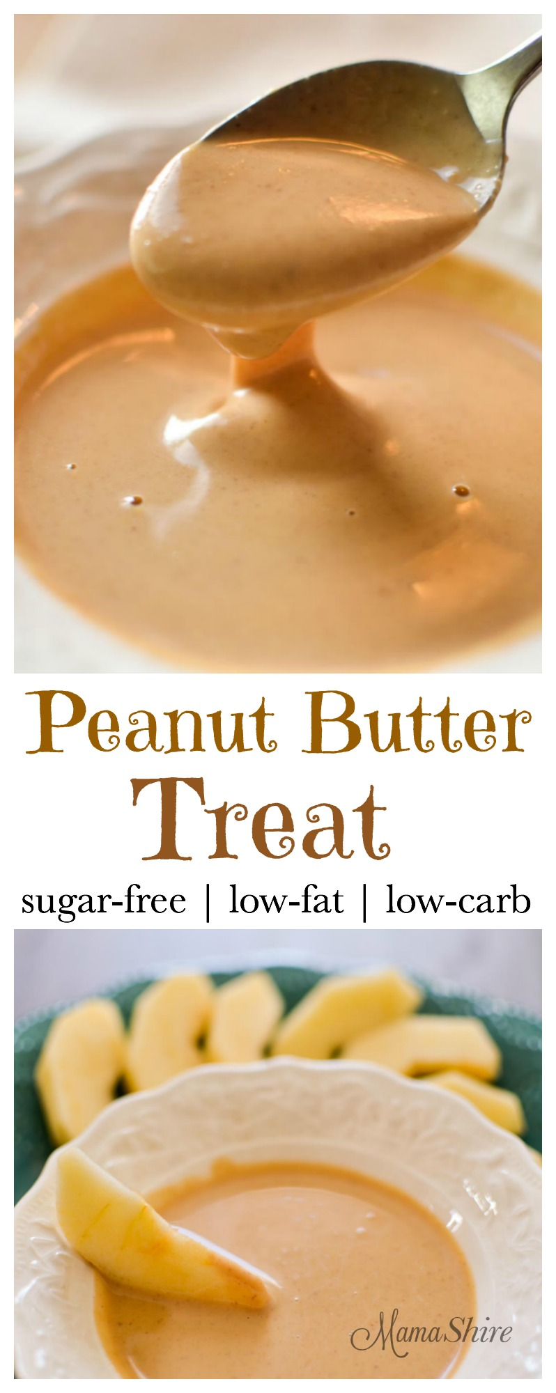 Peanut Butter Treat - Sugar-free, Low-carb, Low-fat