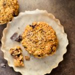 Pumpkin Oatmeal Chocolate Chunk Cookies - THM Crossover