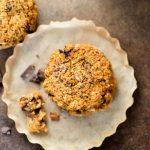 Pumpkin Oatmeal Chocolate Chunk Cookies - THM Crossover