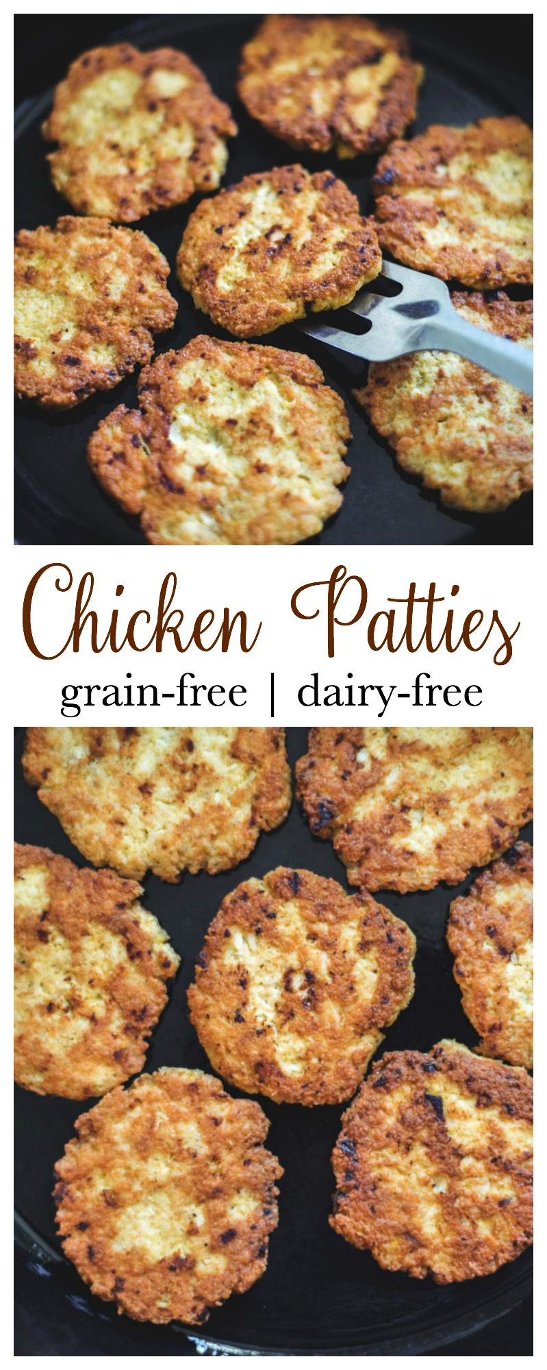 Chicken Patties - grain-free-dairy-free