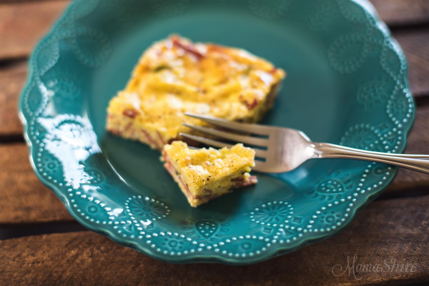 Oven Baked Omelet (Dairy-Free)- MamaShire.com