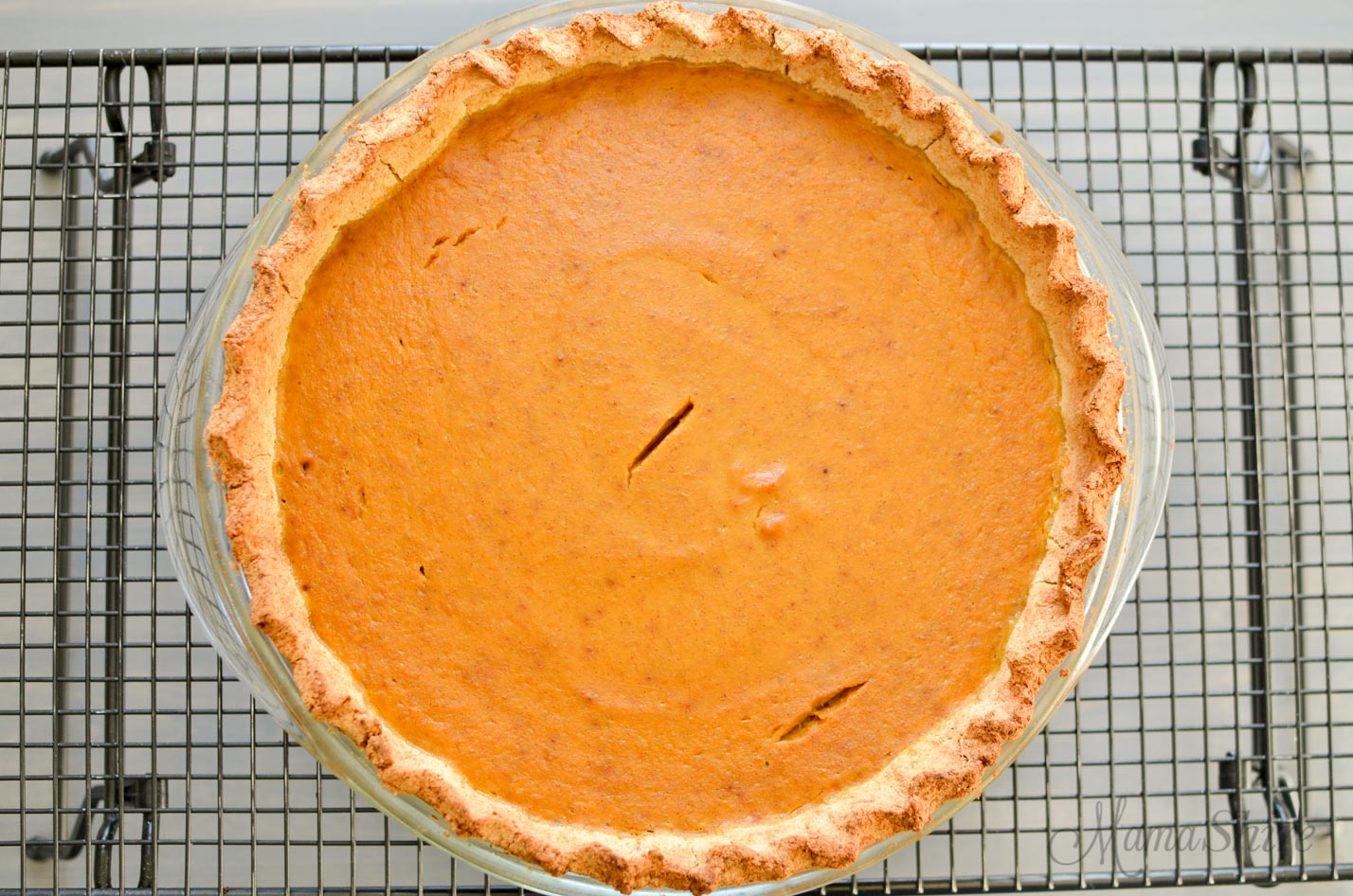 Pumpkin Pie - Gluten, Dairy and Sugar-Free - MamaShire