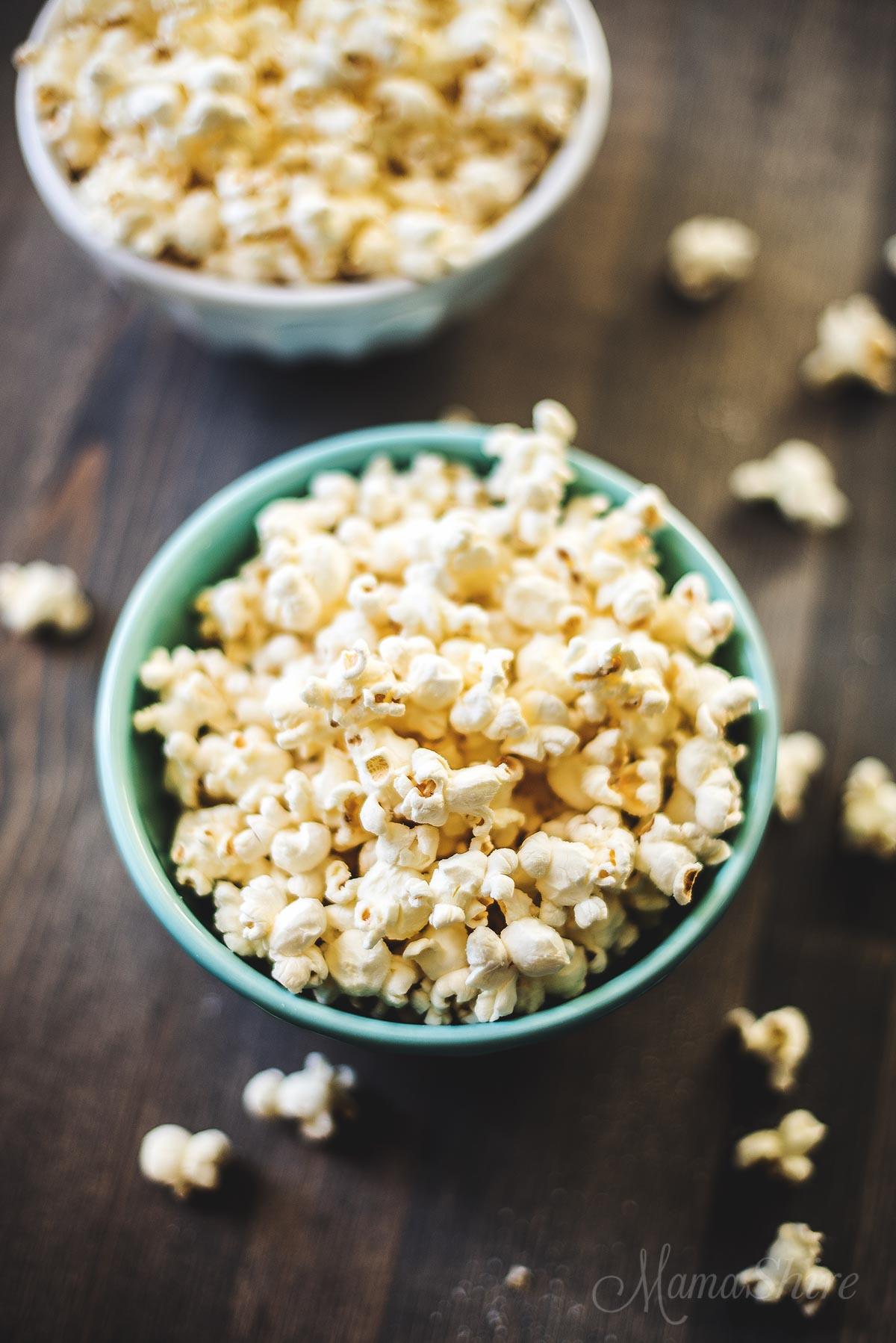Sweet & Salty Popcorn (Sugar-Free)