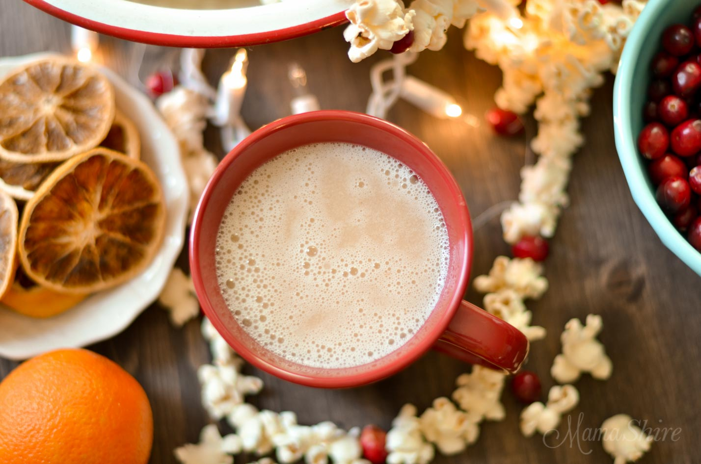Delicious and creamy dairy-free eggnog! Perfect for the holidays! Low-carb, THM-S, Gluten-free #eggnog #dairyfreeeggnog #thm #lowcarbeggnog