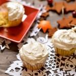 Eggnog Cupcakes - Gluten free, Dairy free, Sugar free - MamaShire.com