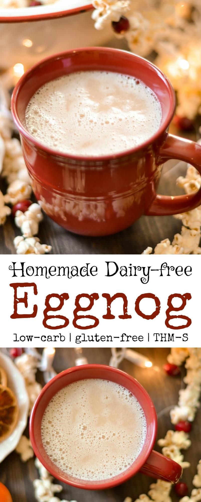 Eggnog - Homemade Dairy-Free