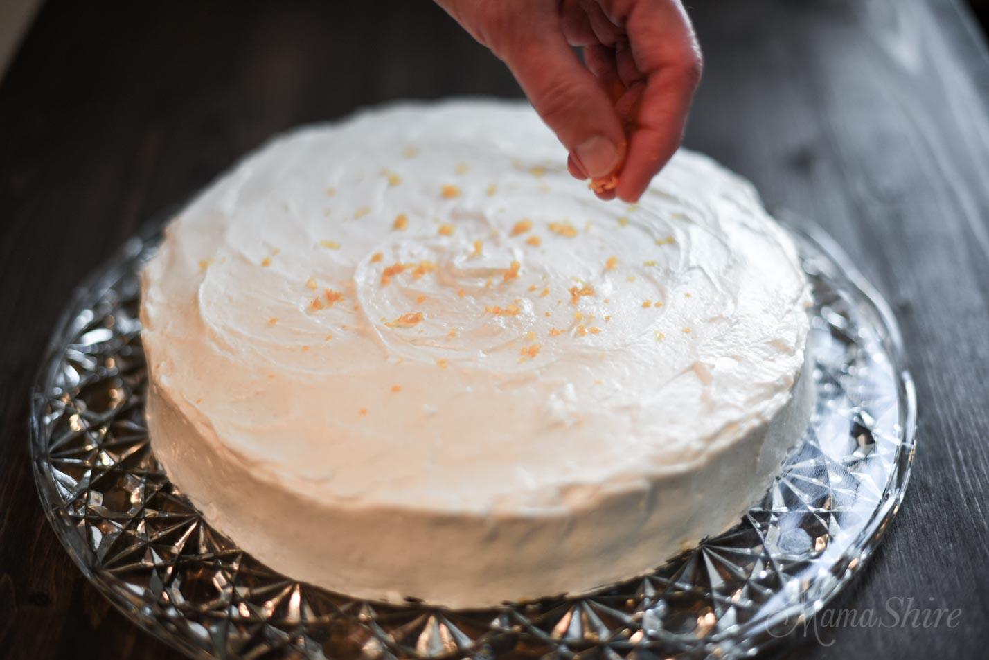 Gluten-Free Lemon Cake - MamaShire.com