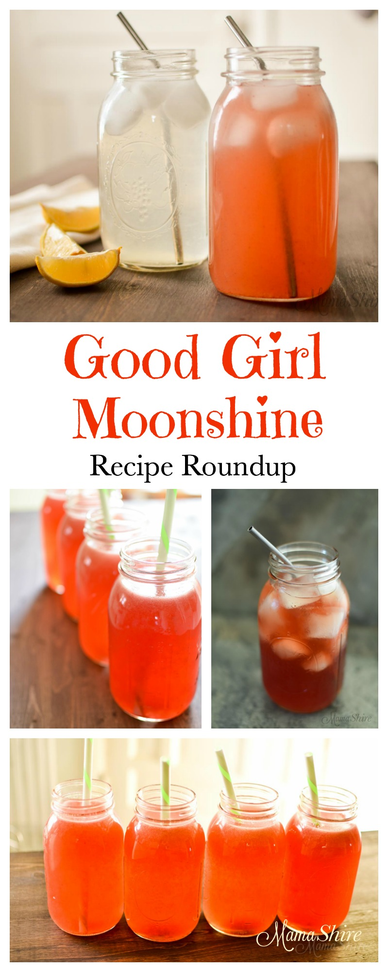 Good Girl Moonshine Recipe Roundup