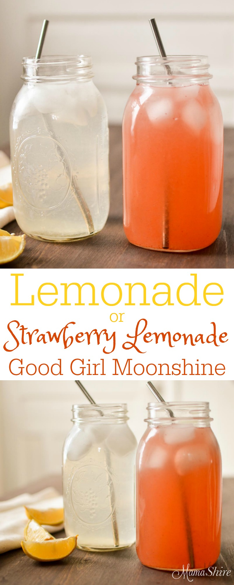 Lemonade Good Girl Moonshine with Strawberry Lemonade option. Enjoy this GGMS sipper throughout the day. So good for you! Kick the soda habit! THM-Sipper