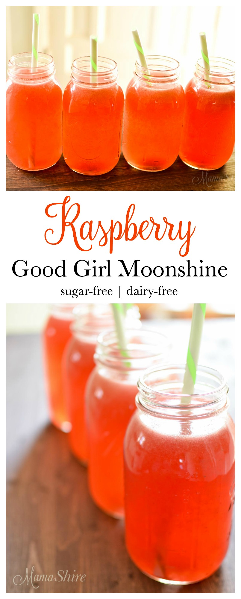 Raspberry Good Girl Moonshine - sugar-free