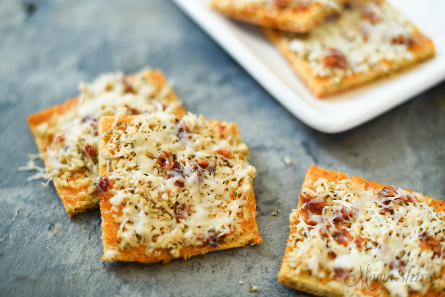 Chipotle Chicken Pizza Squares