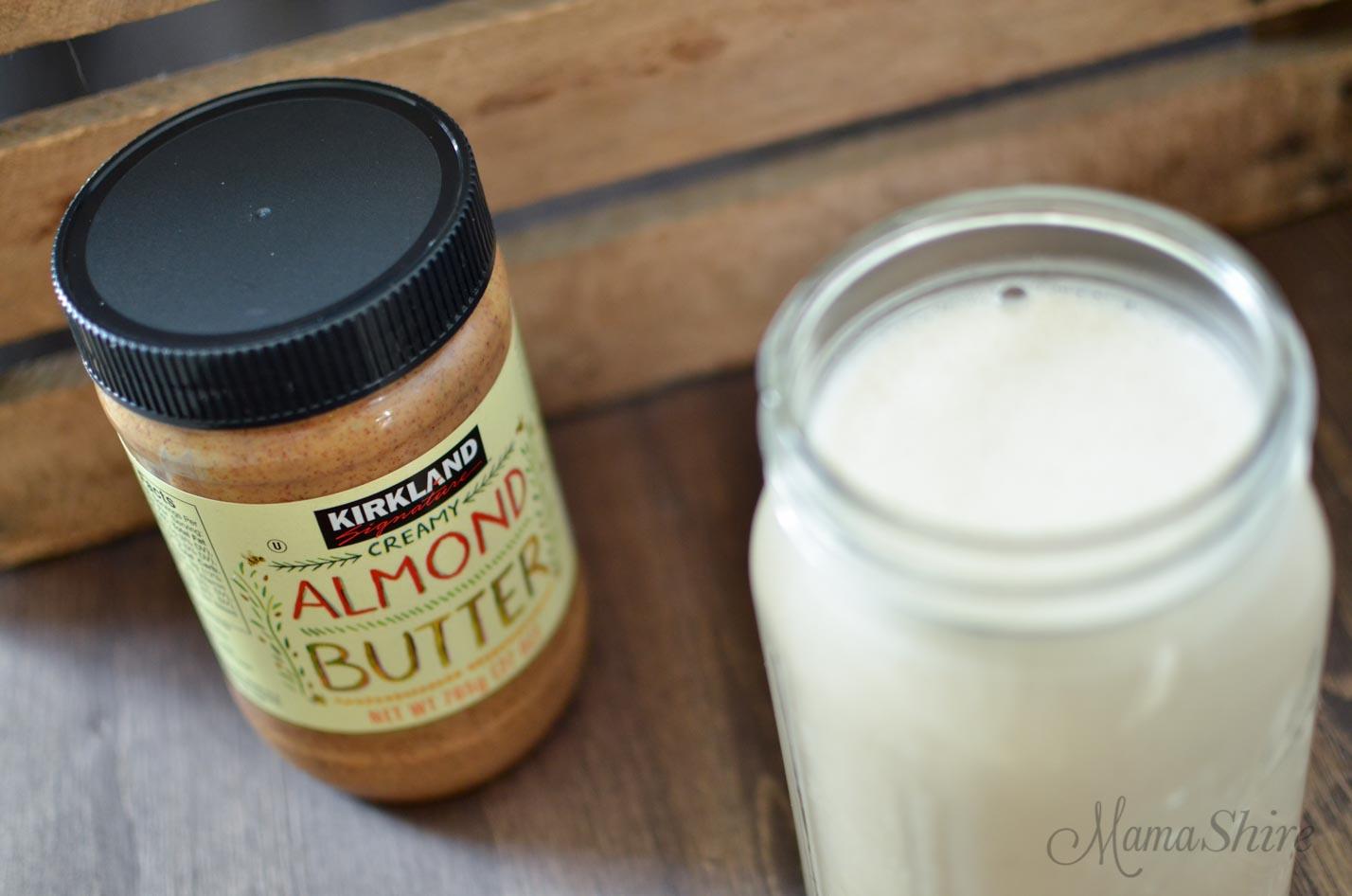 Homemade Almond Milk - MamaShire.com