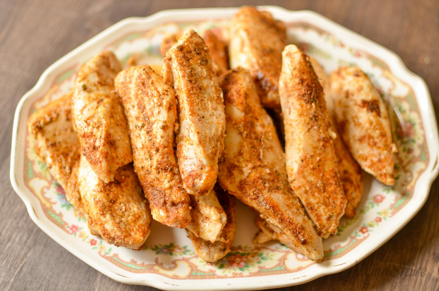 Baked Cajun Chicken Strips