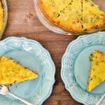 Crustless Spinach Quiche Gluten & Dairy Free - MamaShire.com