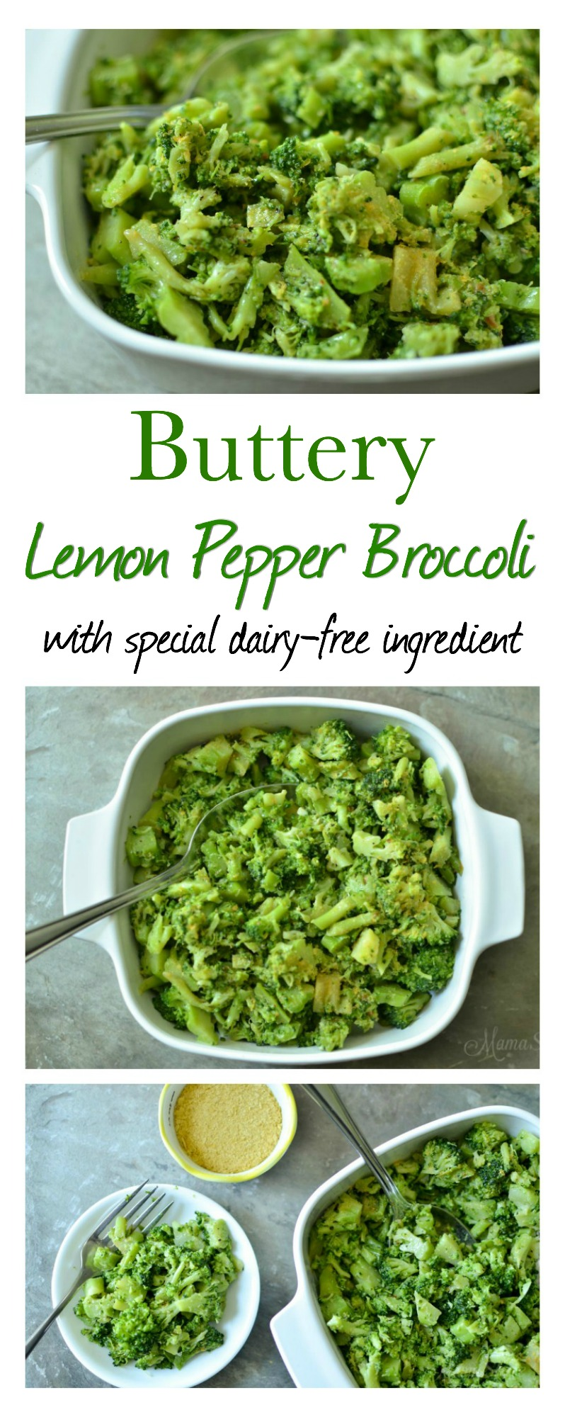 Buttery Lemon Pepper Broccoli - Dairy-Free