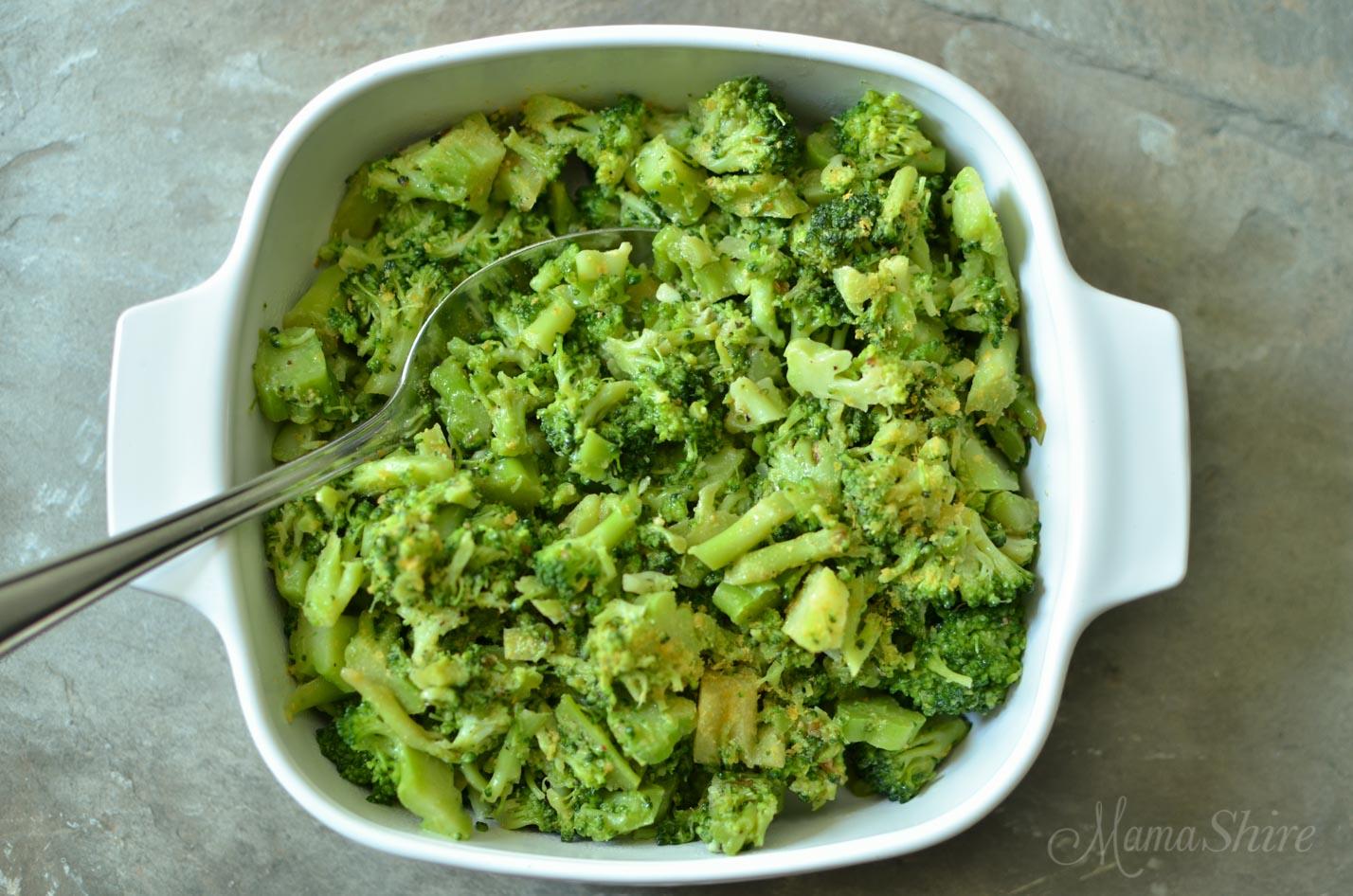 Buttery Lemon Pepper Broccoli - Dairy-Free, Gluten-Free