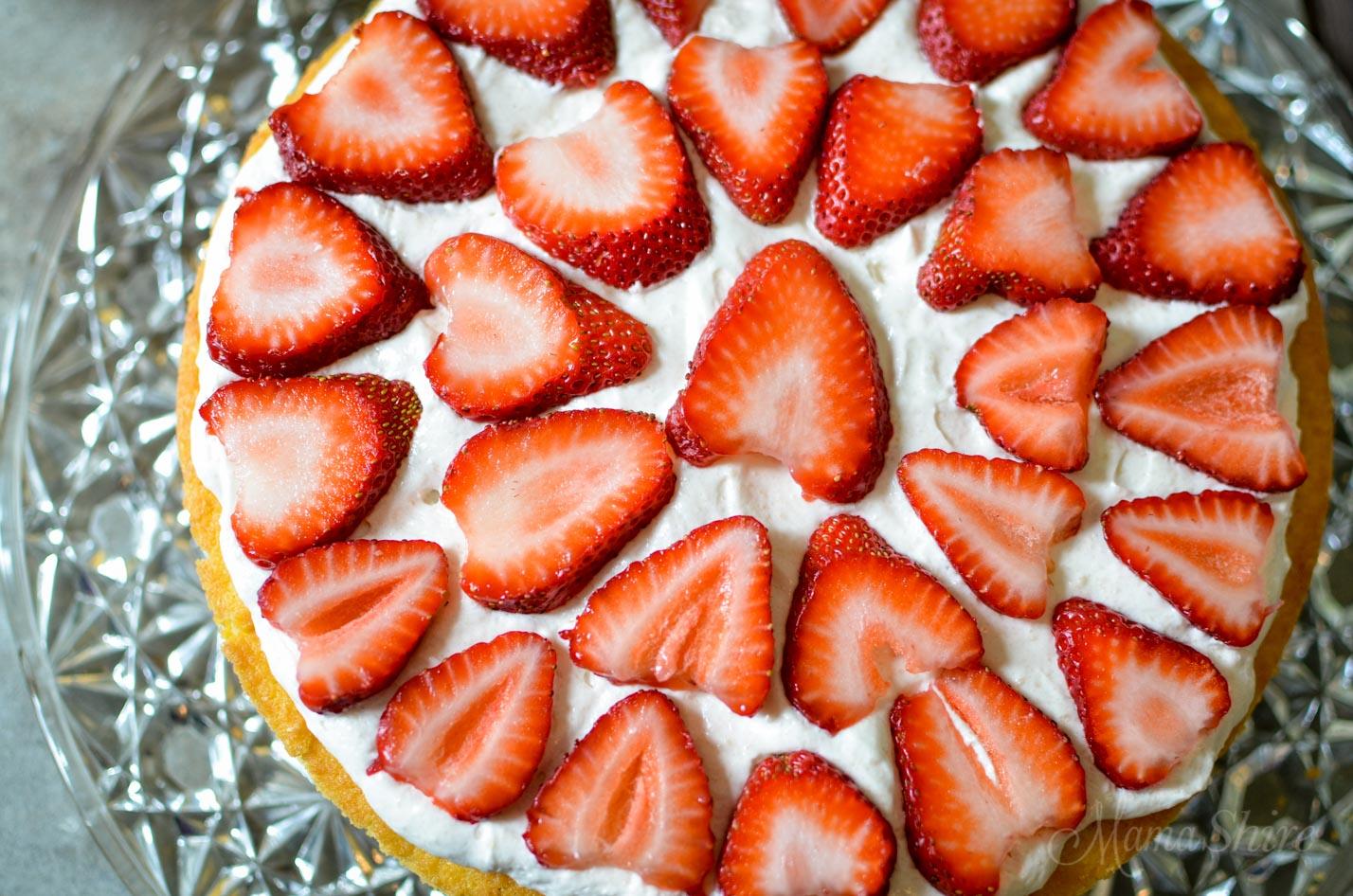 Strawberry Shortcake Grain-free, Dairy-free, Sugar-free