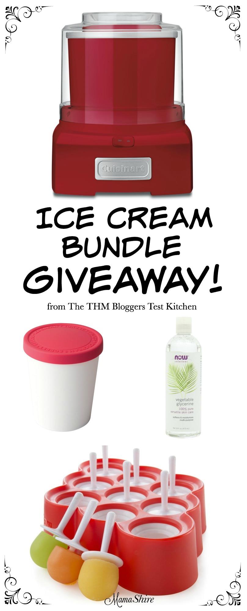 Ice Cream Bundle Giveaway