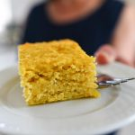 Yellow Squash Snack Cake - Dairy-free, Sugar-free, Gluten-free, THM-S