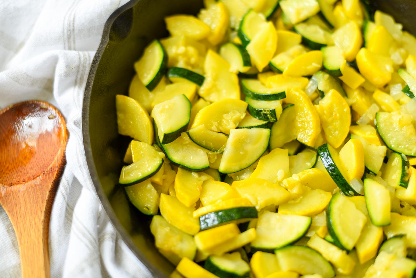 Fried Summer Squash - Low-Carb, THM-S, Gluten-free
