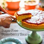 Sugar-free Strawberry Sauce - low-carb, THM-FP, gluten-free