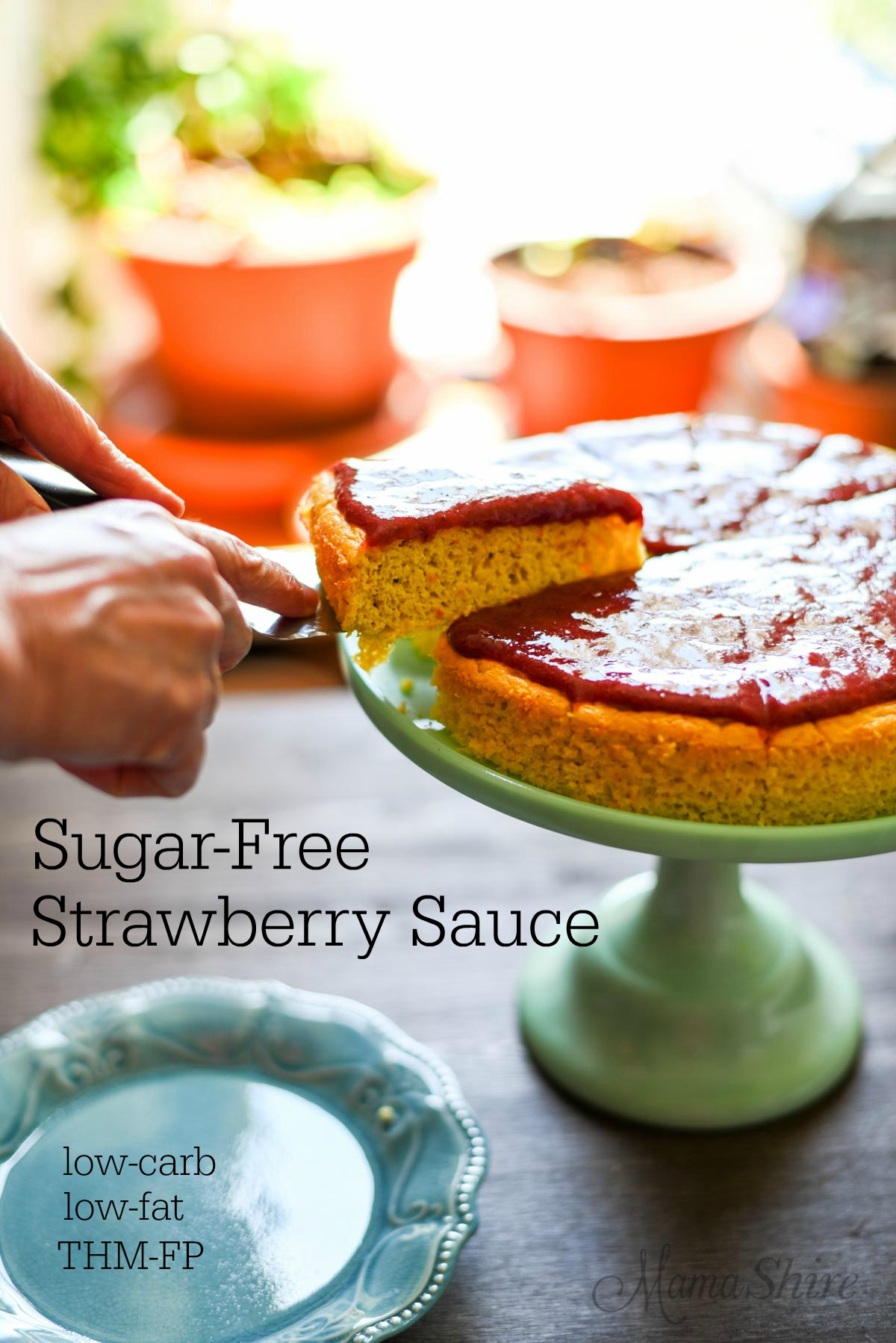 Sugar-free Strawberry Sauce - low-carb, THM-FP, gluten-free
