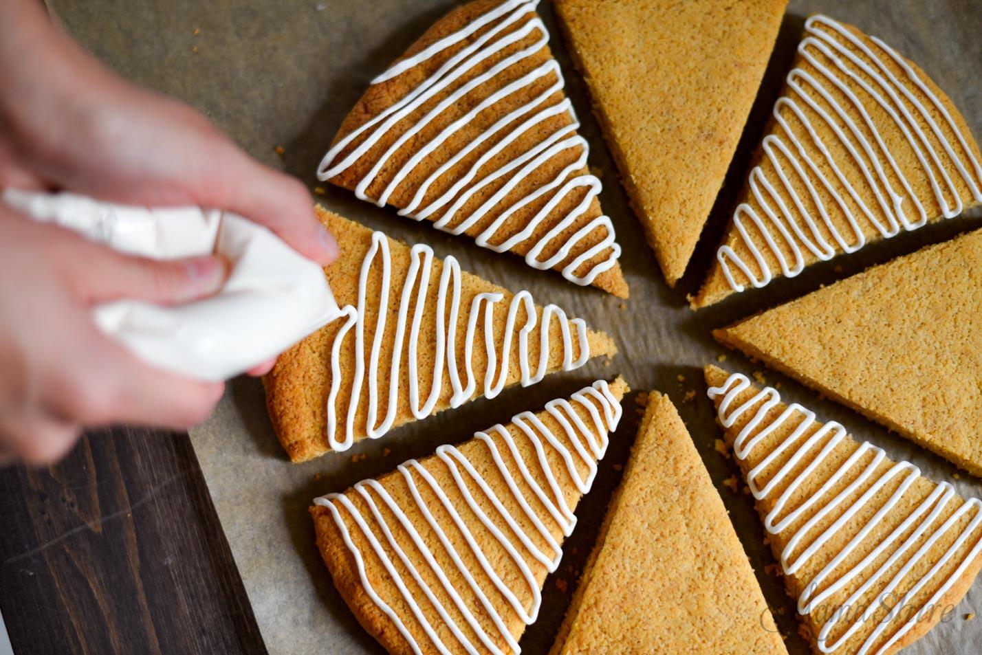 Dairy-Free Vanilla Icing - Gluten-free, Sugar-free, Low-carb, THM-S