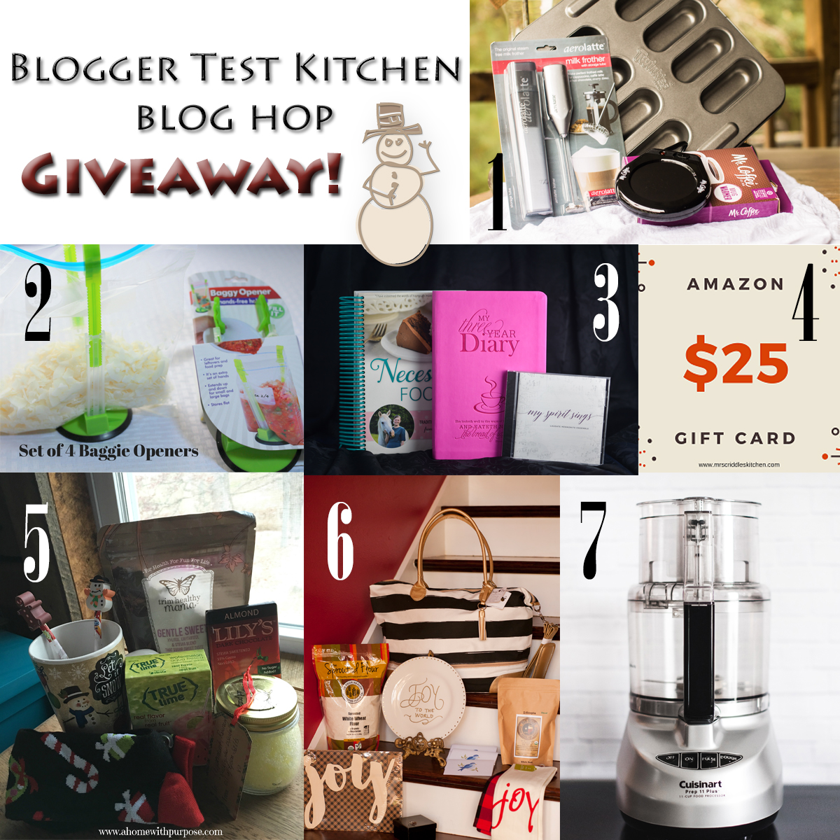 Blogger Test Kitchen Giveaway