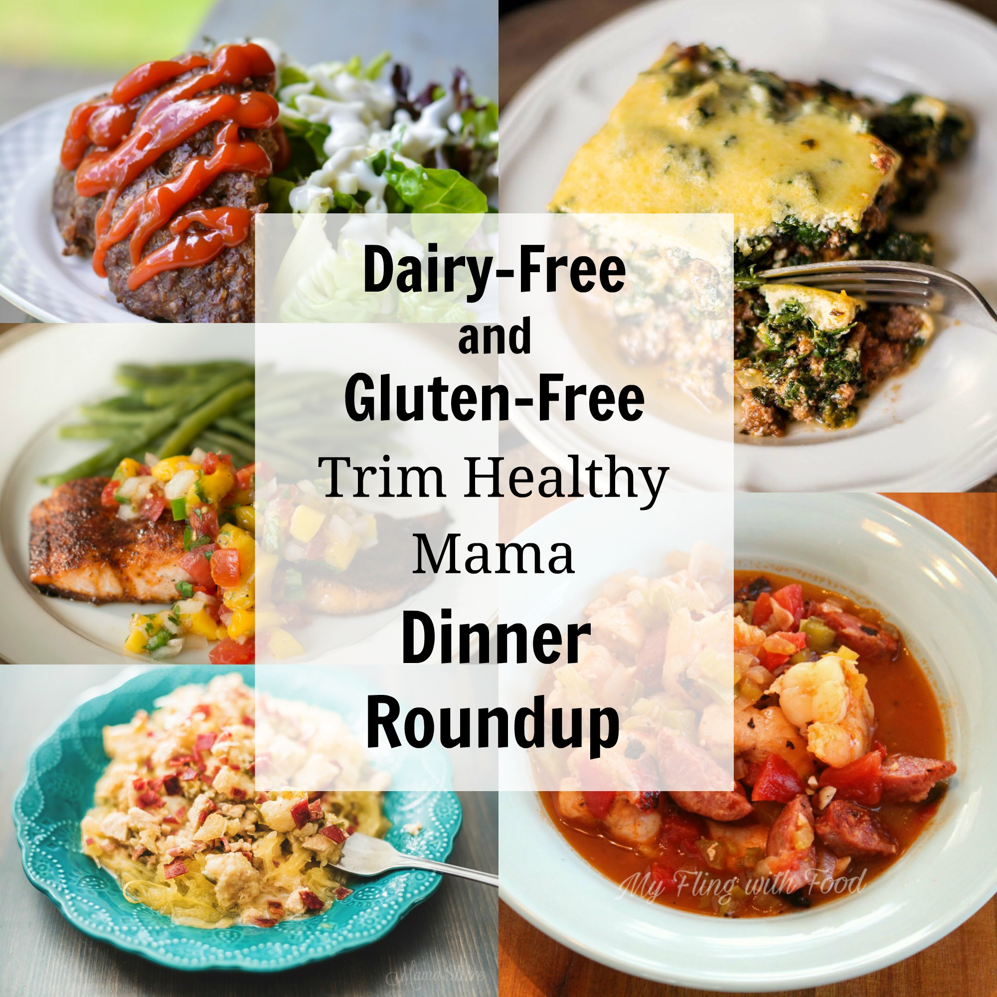 Dairy free and gluten free trim healthy mama dinners for Table 52 gluten free