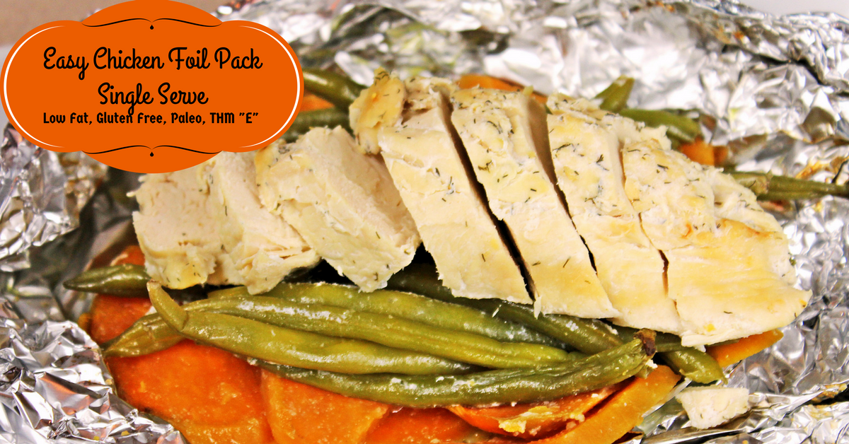 Easy Chicken Foil Packets Dairy Free Gluten Free Dinner