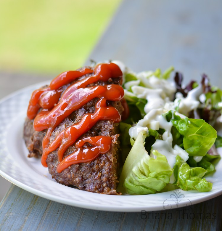 Mommy's Meatloaf - Dairy-Free Gluten-Free THM Dinner