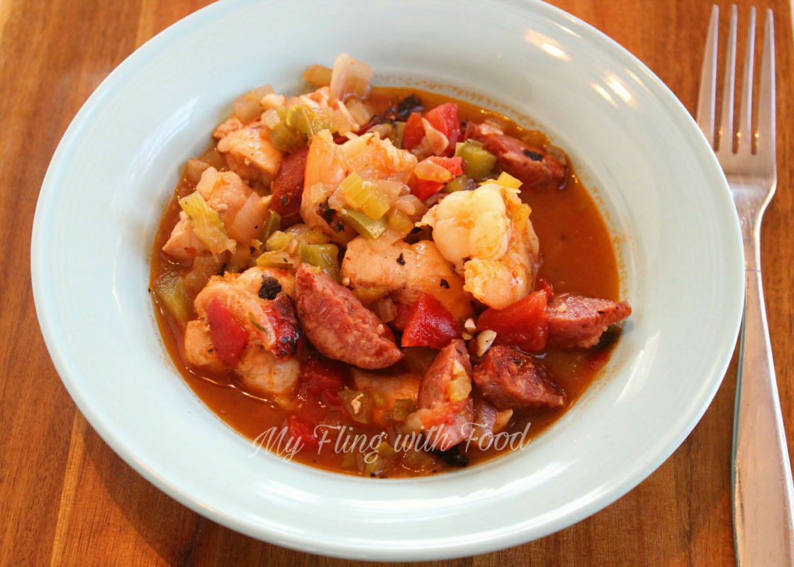 New Orleans Gumbo Dairy-Free and Gluten-Free THM Dinners