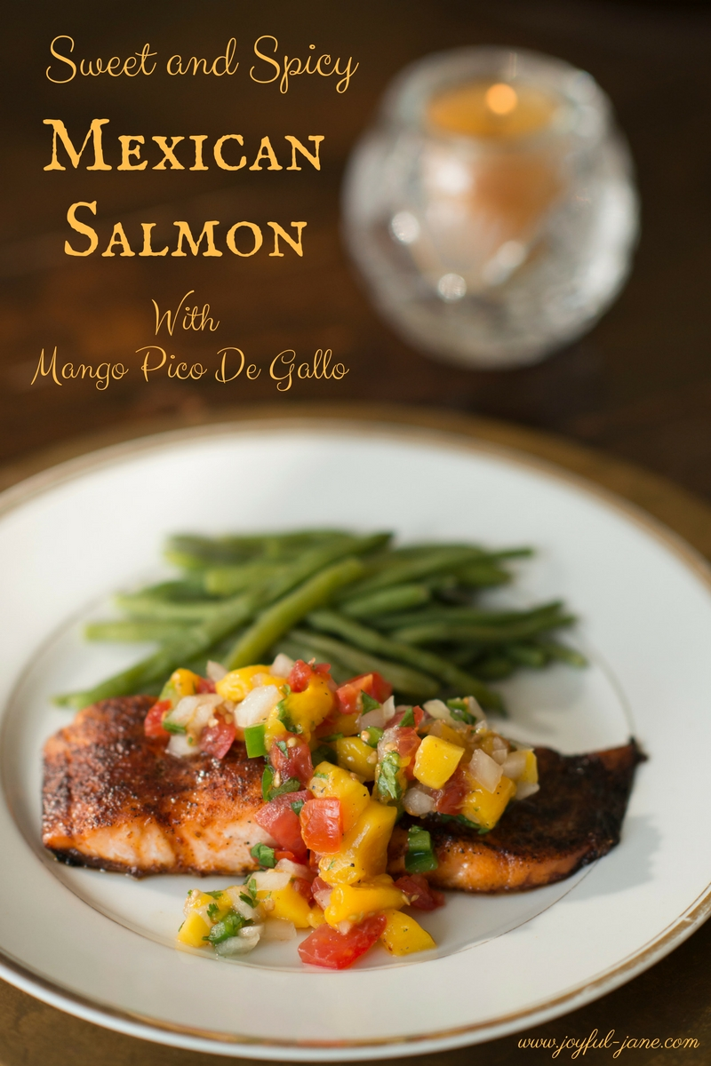 Sweet and Spicy Mexican Salmon Dairy Free Gluten Free Dinners
