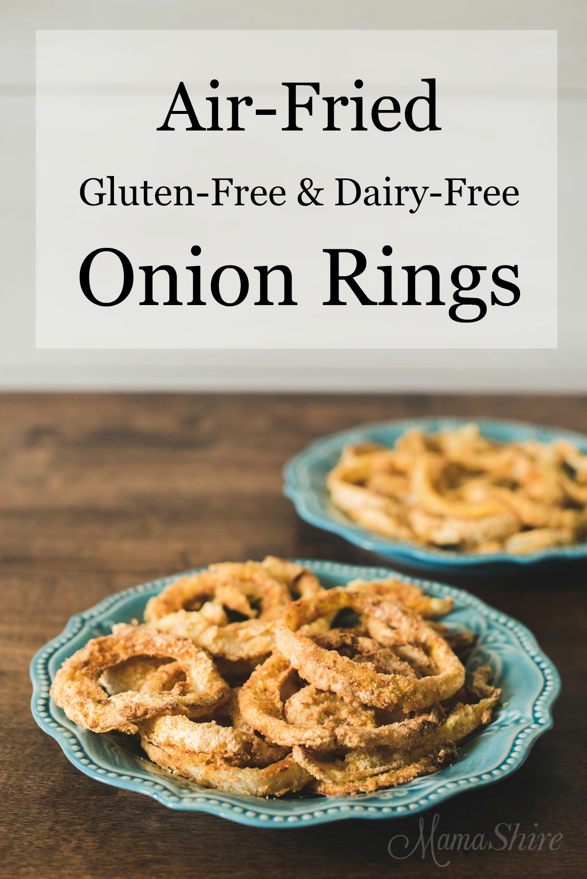 Air Fried Gluten Free Onion Rings