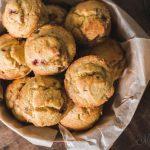 Strawberry Muffins Gluten-Free, Dairy-Free, Sugar-Free