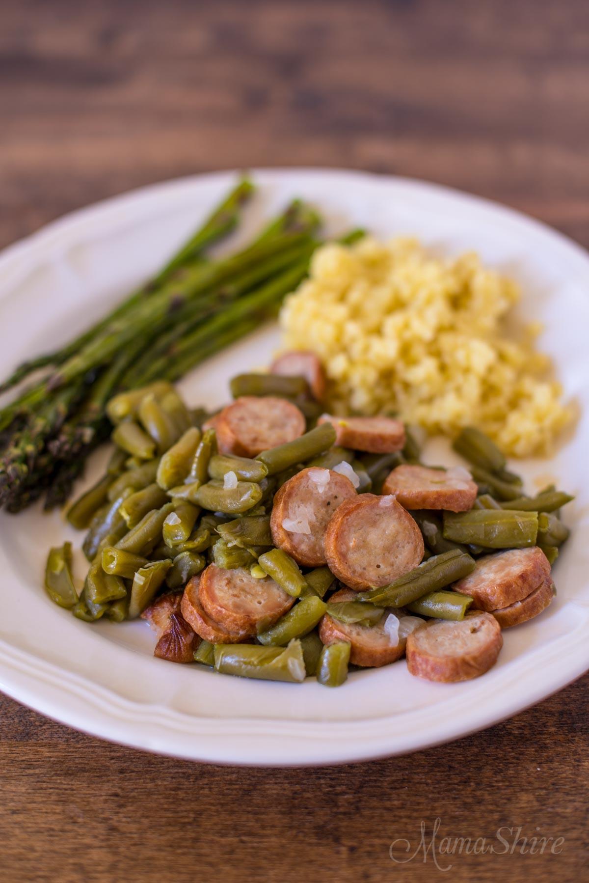 Farmhouse Beans & Sausage (Gluten-Free)