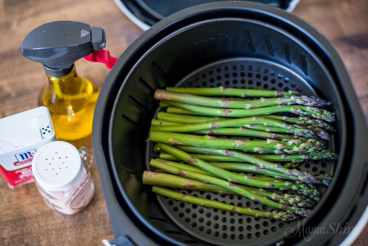 Air Fried Asparagus - Low Carb, THM-FP