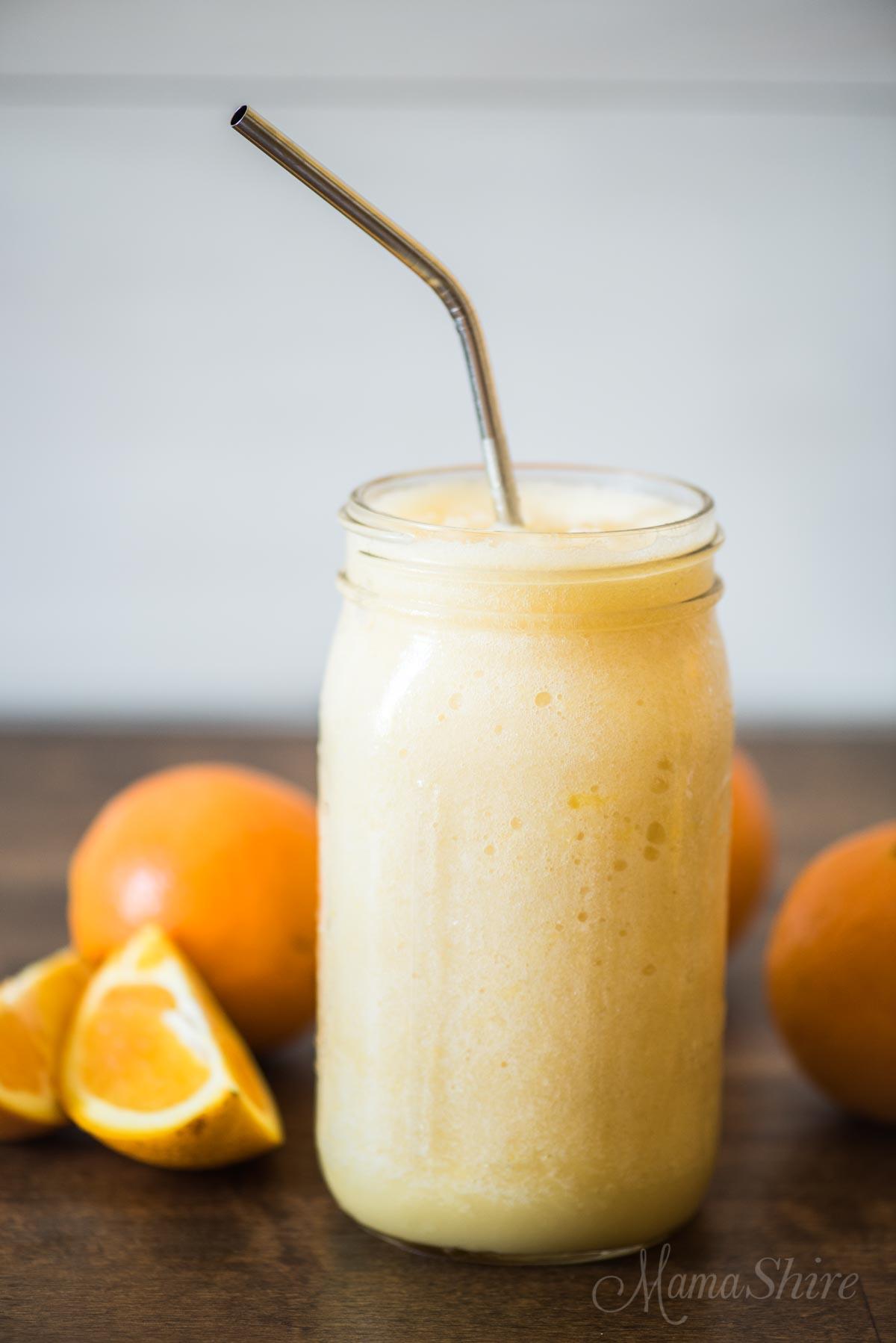 Copycat Orange Julius (Dairy-free)