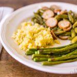 Savory Cauliflower Rice - Gluten Free, Dairy-Free, Low-Carb, THM-S