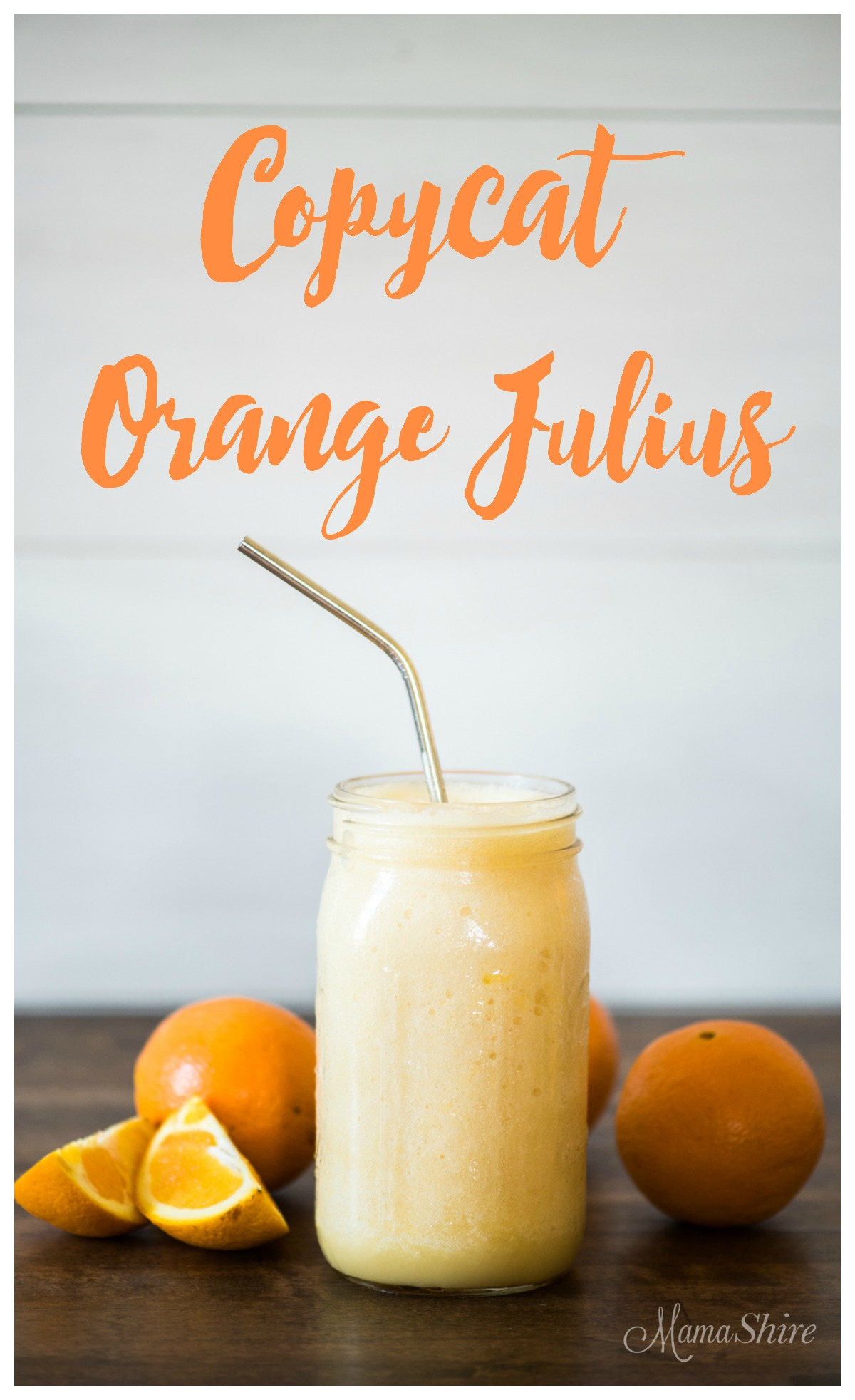 Copycat Orange Julius - Dairy-Free Sugar-Free Shakes, Frosties, and Smoothies