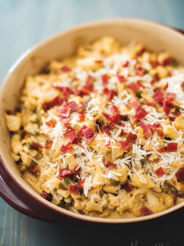Spicy Bacon Chicken Bake