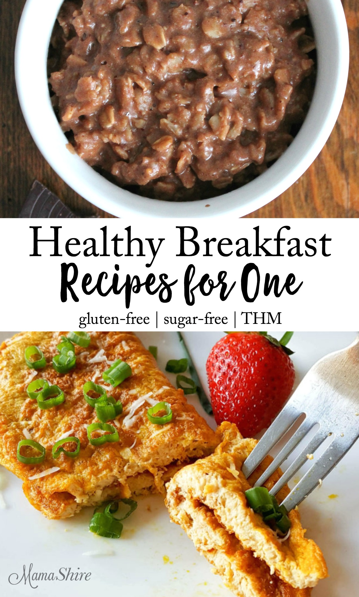 Healthy Breakfast Recipes for One - On plan with Trim Healthy Mama