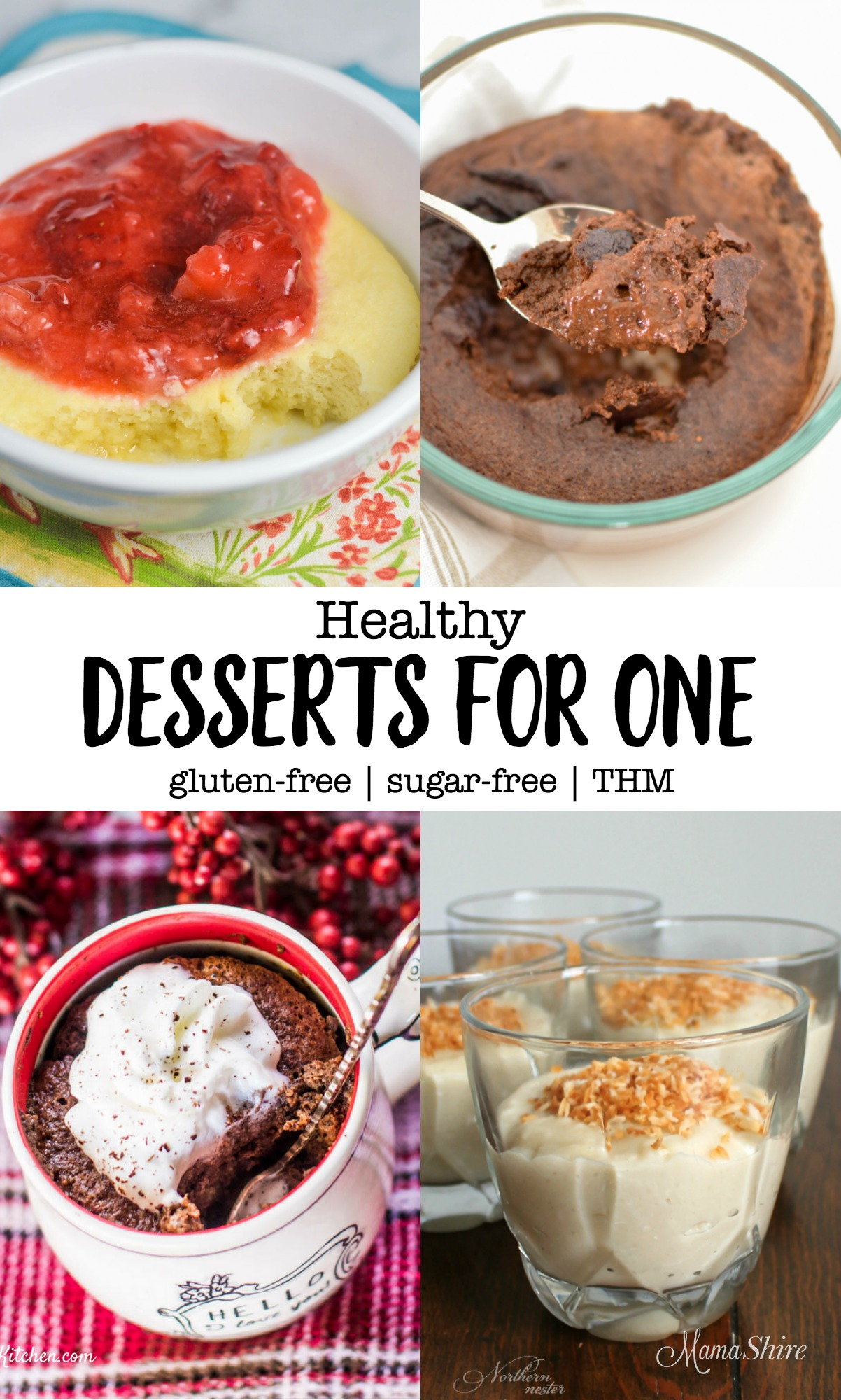 Healthy Desserts for One - Trim Healthy Mama