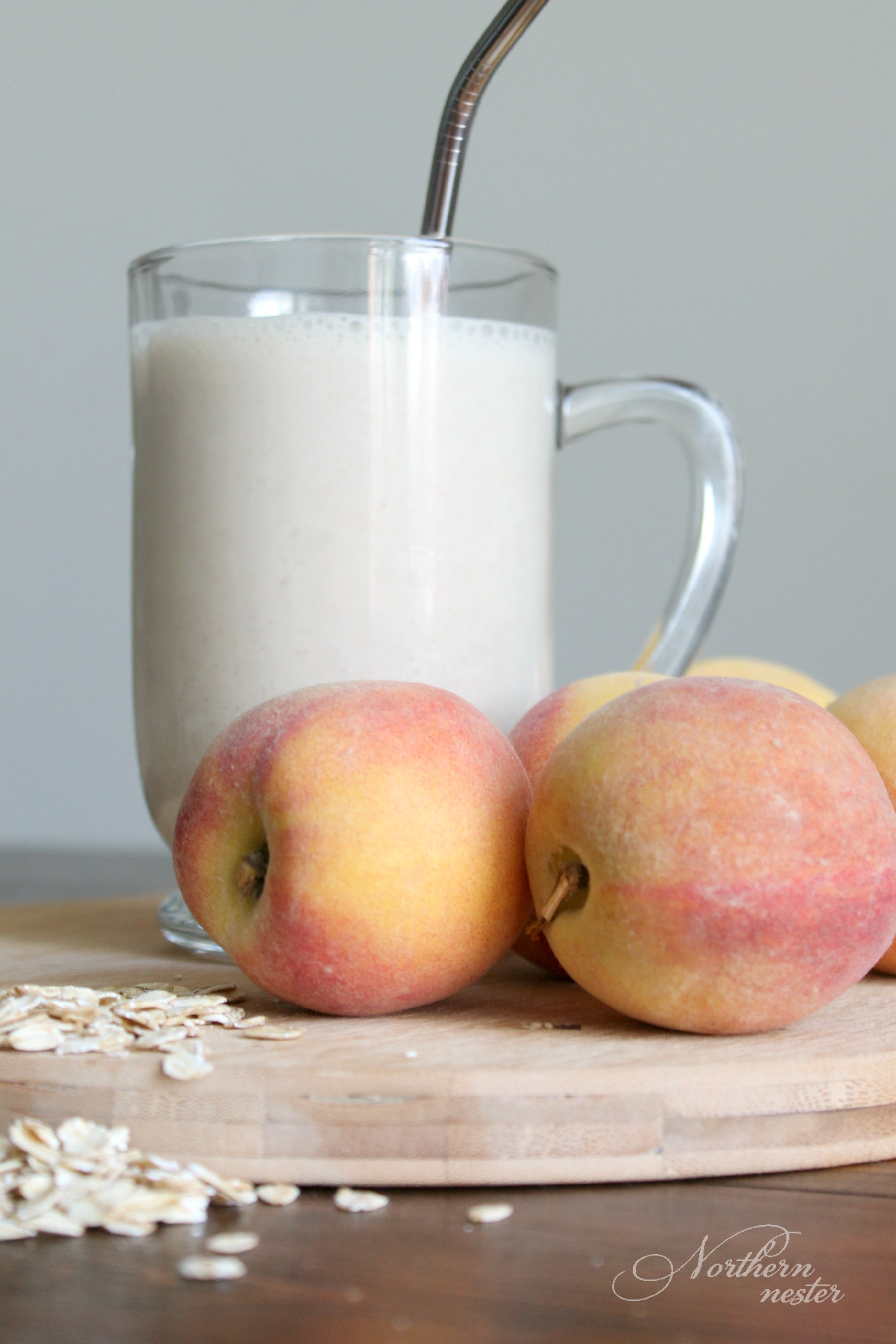 Peach Pie Smoothie - THM-E