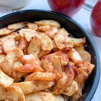 Air-Fried Spiced Apples (Gluten-free)