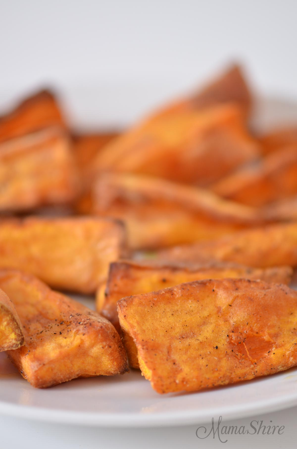 Air-Fried Sweet Potato Fries