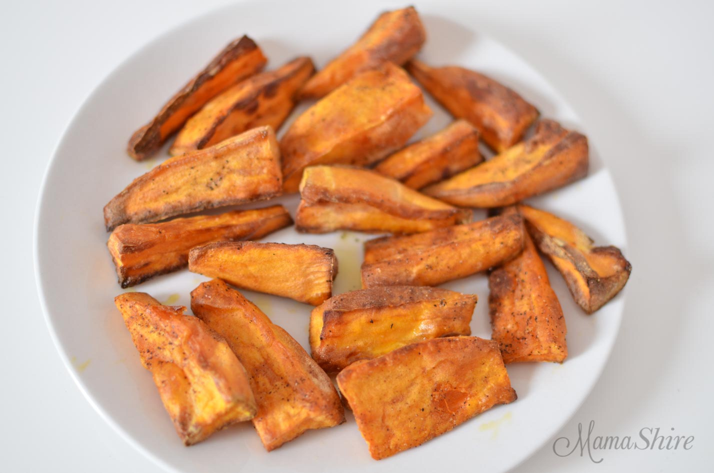 Crispy Air-Fried Sweet Potato Fries